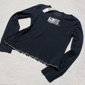 Polo Ralph Lauren Vintage Long Sleeve Pullover Top